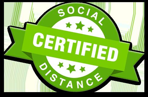 Social Distance Certified